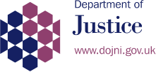 NI Government Department of Justice Logo
